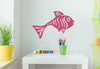 Happy Fish Wall Decal