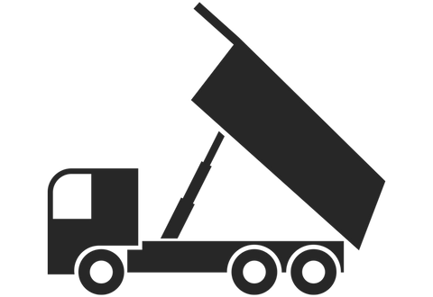 Dump Truck Wall Decal