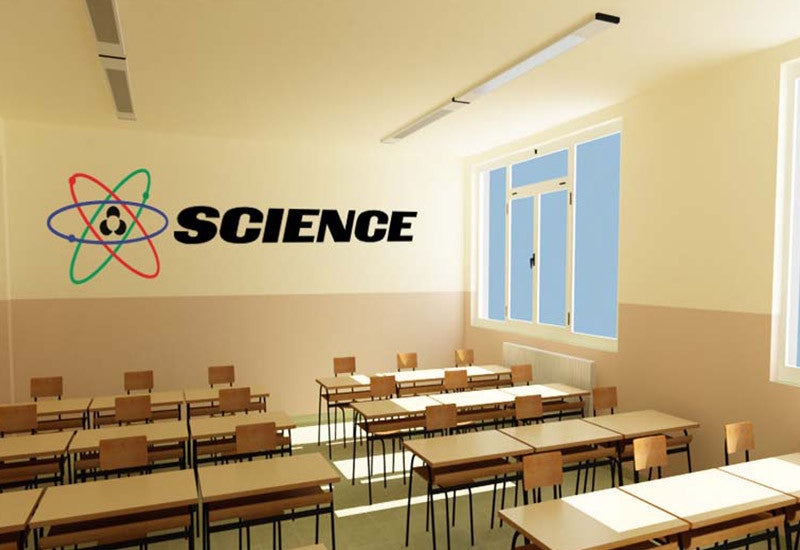 Science Wall Decal