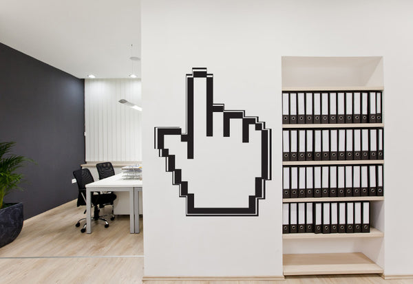 Digital Mouse Cursor Wall Decal