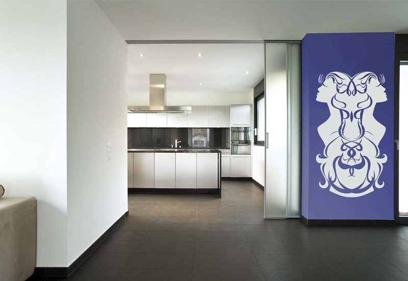 Gemini Wall Decal