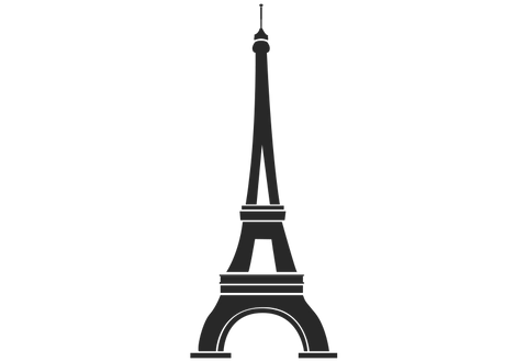 Eiffel Tower #2 Wall Decal