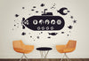 Underwater Submarine Scene Wall Decal
