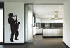 Saxophone Player Wall Decal