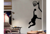 Basketball Player Slam Dunk #1 Wall Decal