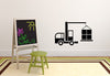 Truck Crane Wall Decal