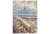 Old Bridge in Europe Vintage Canvas