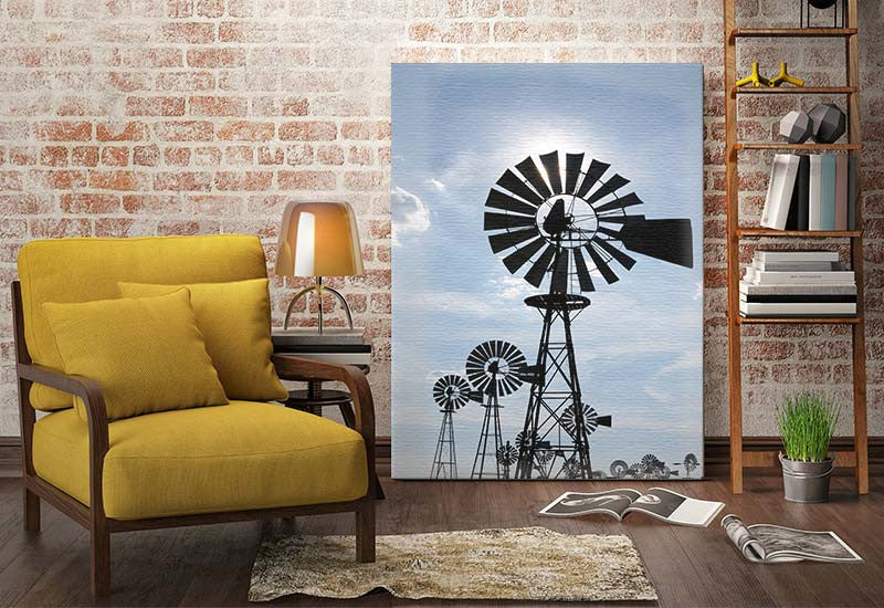 Windmill Canvas