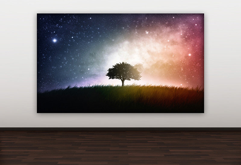 Lone Tree Sky Canvas
