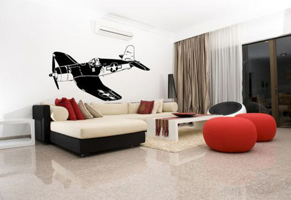 Fighter Plane Wall Decal