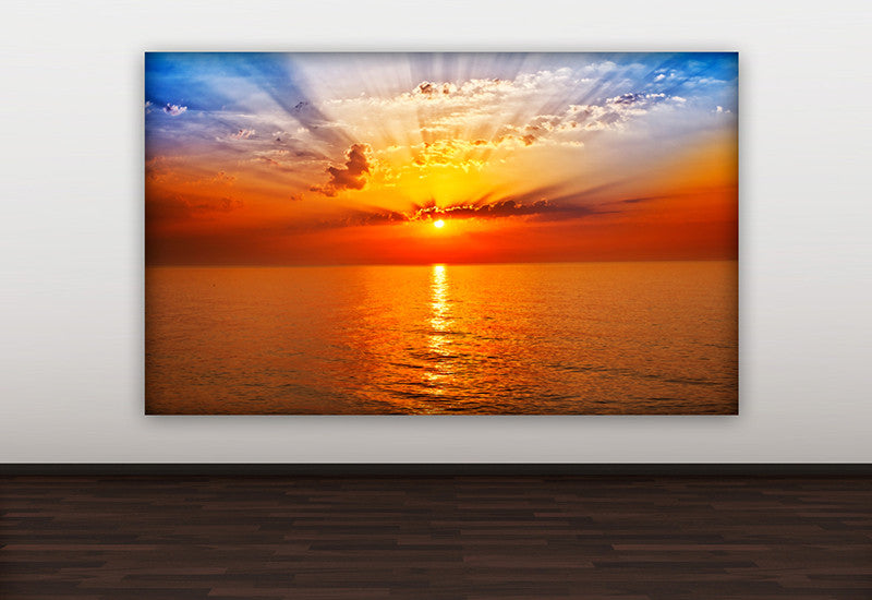 Colorful Sunset Canvas