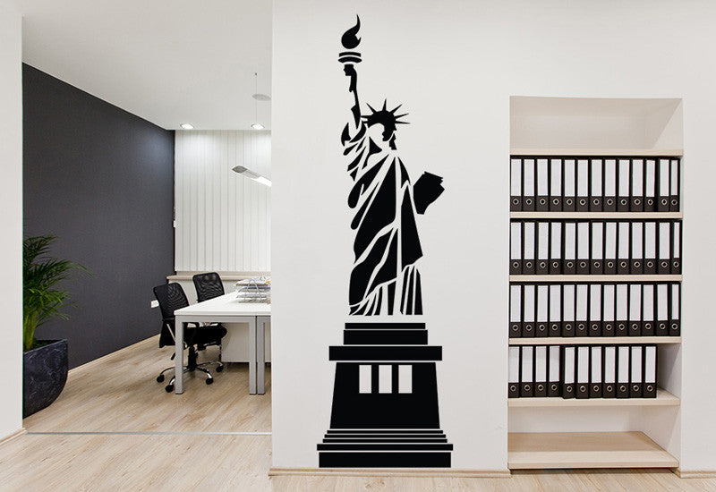 Statue Of Liberty New York City Wall Decal Easy Decals - Wall decals city