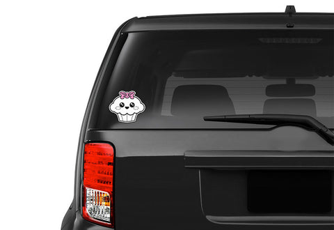 Cupcake Skull Vehicle Decal