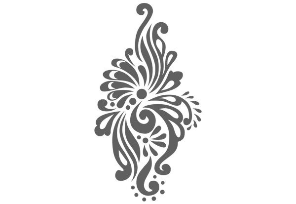 Damask #4 Wall Decal