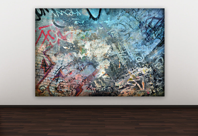 Graffiti Wall Canvas