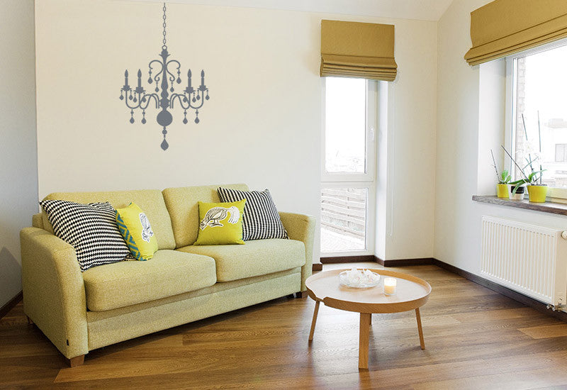 Chandelier #8 Wall Decal