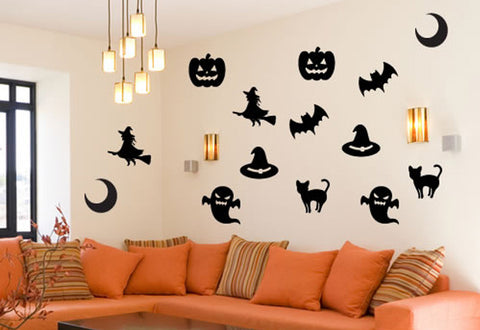 Halloween Wall Decal Set