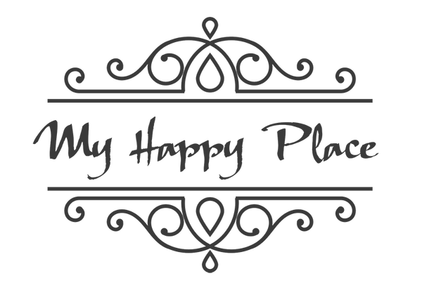 My Happy Place Small Wall or Window Decal