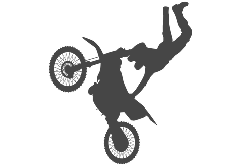 Motocross Jump #2 Wall Decal