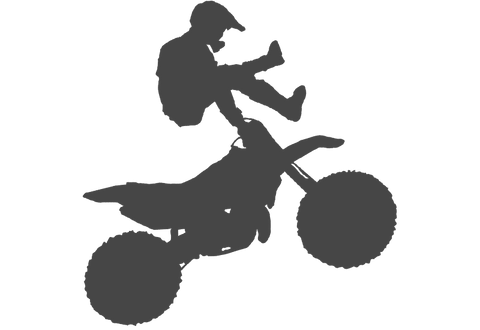 Motocross Jump #1 Wall Decal