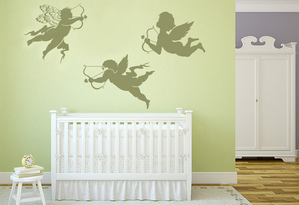 Cupids Shooting Love Arrows Wall Decal