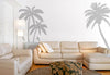 Palm Tree And Birds Set Wall Decal