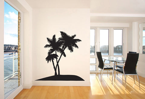 Group of Palm Trees Wall Decal