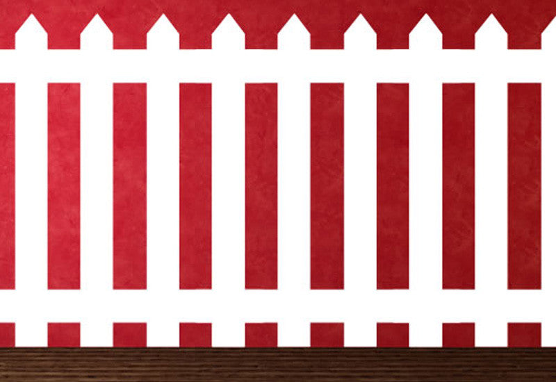 PIcket Fence Wall Decal  sc 1 st  Easy Decals & PIcket Fence Wall Decal u2013 Easy Decals