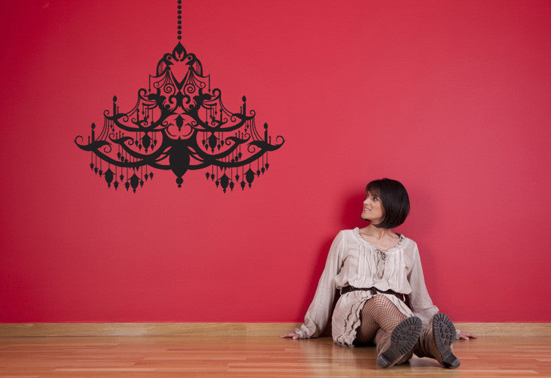 Chandelier #4 Wall Decal