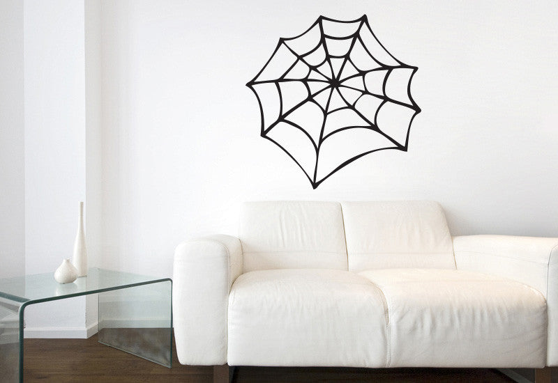 Spiderweb Wall Decal
