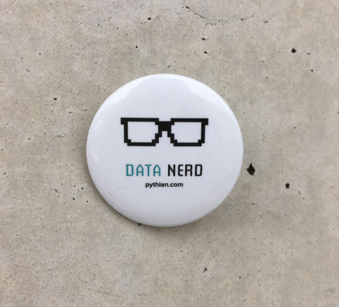 Data Nerd Button - 10 pack