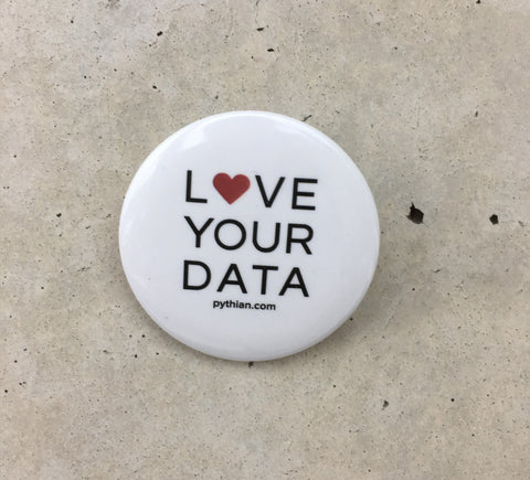 Love Your Data Button - 10 pack
