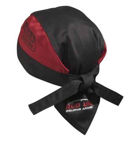 Lincoln Electric K2994-XL Flame Retardant Black//Red Welding Beanie X-Large