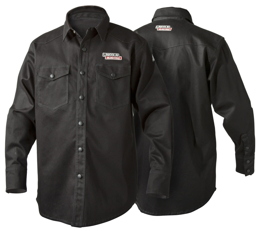 Lincoln K3113 Black FR Welding Shirt