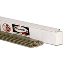 "Harris 00015600POP 1/8"" x 36"" 15-Low Fuming Bronze (Bare) TIG Rod (1lb Box)"