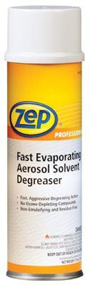 Zep Professional R11901 Fast Evaporating Solvent Degreasers, 20 oz Aerosol Can