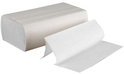 Boardwalk BWK 6200 Multi-Fold Paper Towels, White, 250/Pack (16 Rolls/Case)