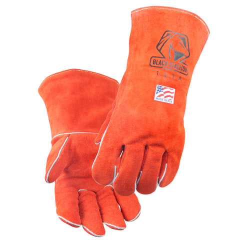 "Revco 101R-18 18"" Premium Side Split Cowhide Stick Welding Gloves (1 Pair)"