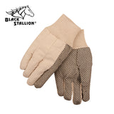Revco 1118 8 oz. Cotton w/ Gripping Dots Canvas Industrial Gloves (12 Pairs)