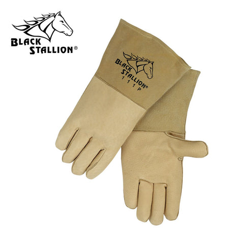 Revco 111P Black Stallion® Pigskin Stick Welding Gloves