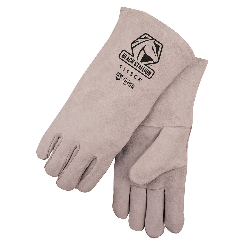Revco 111SCR Large A3 Cut Resistant Split Cowhide Welding Glove (1 Pair)