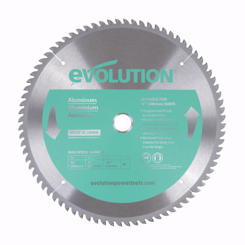 "Evolution 12BLADEAL 12"" Saw Blade"