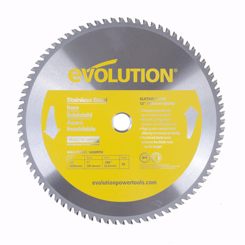 "Evolution 12BLADESS 12"" Saw Blade"