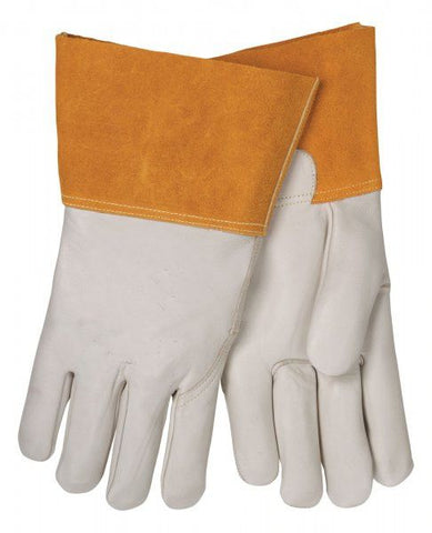 "Tillman 1356 4"" Cuff Unlined Economy Cowhide MIG Welding Gloves (1 Pair)"