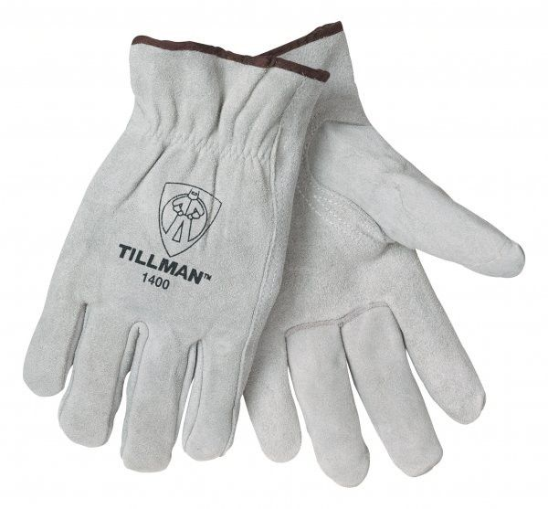 Tillman 1400 Pearl Split Cowhide Drivers Gloves (1 Pair)