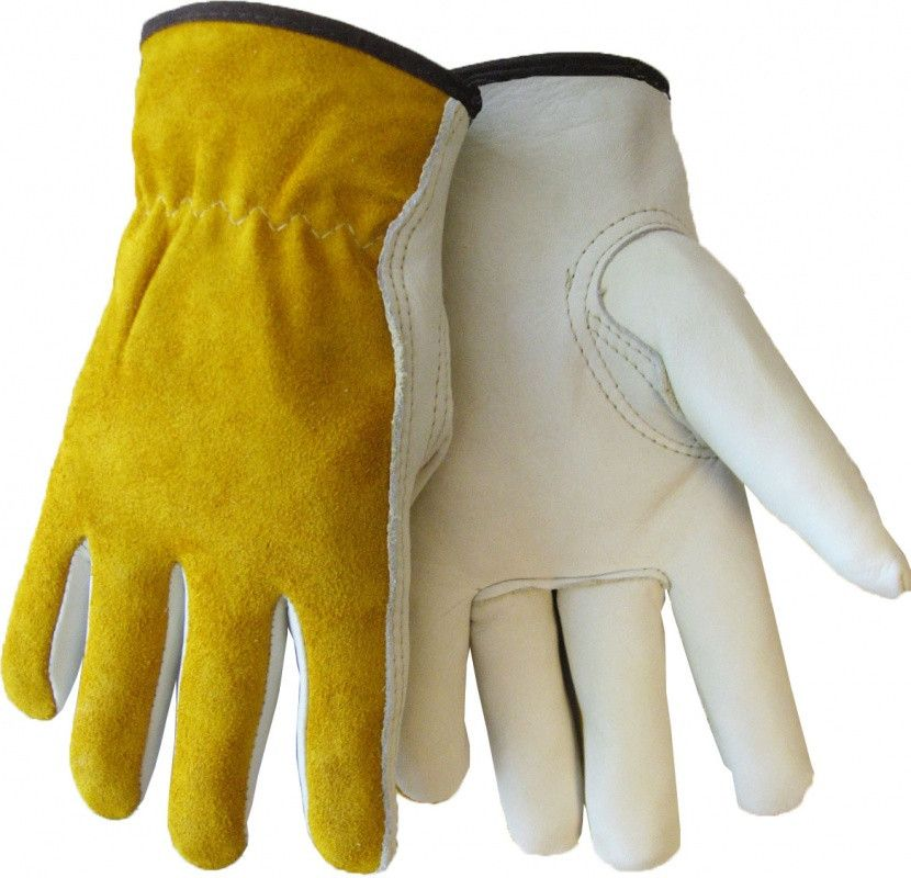Tillman 1416 Economy Top Grain/Split Cowhide Drivers Gloves (1 Pair)
