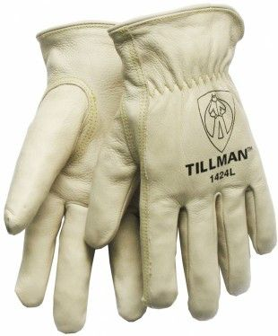 Large Tillman 1415 Unlined  Top Grain Goatskin Drivers Gloves