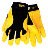 Tillman 1475 Gold Top Grain Cowhide and Spandex Back TrueFit Gloves (1 Pair)