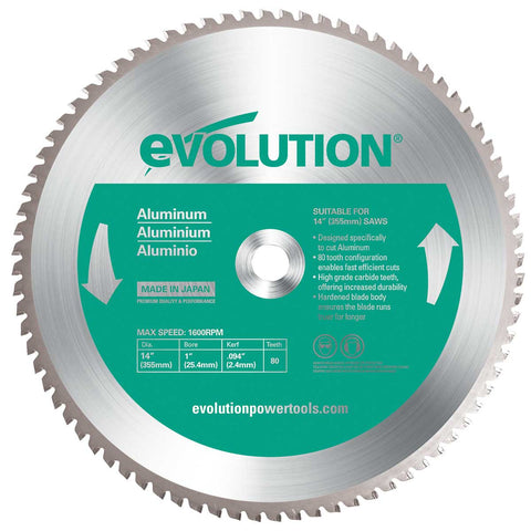 "Evolution 14BLADEAL 14"" Saw Blade"