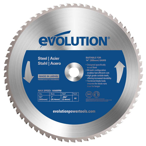 "Evolution 14BLADEST 14"" Saw Blade"
